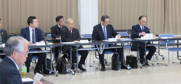 長野県リニア阿部知事との意見交換会