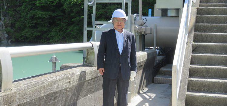 文教企業委員会現地調査【高遠発電所】